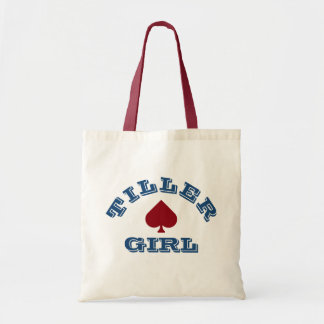 """Tiller Girl"" Narrowboating Tote Bag"