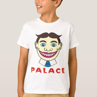Tillie over Palace Letters T-Shirt