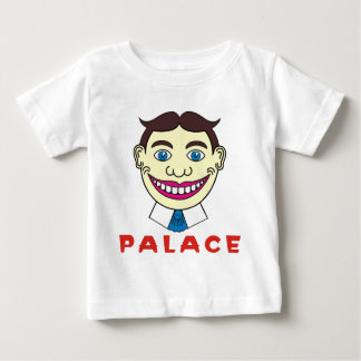 Tillie over Palace Letters Tee Shirts