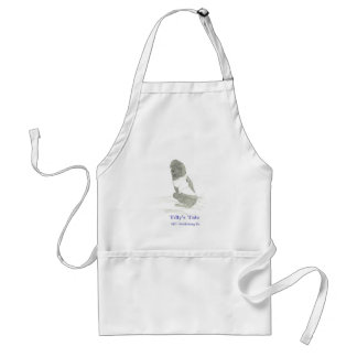 Tilly in sweater, 4RV Publishing llc Standard Apron