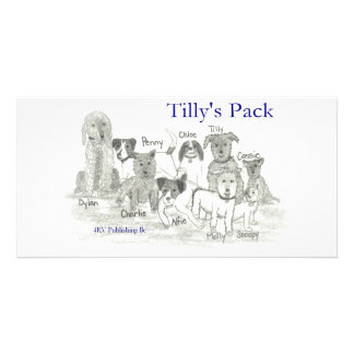 Tilly s Pack Customized Photo Card