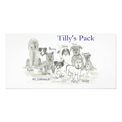Tilly's Pack Customized Photo Card