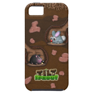 Tilt & Sprout - Underground Rabbit & Mole iPhone 5 iPhone 5 Cover