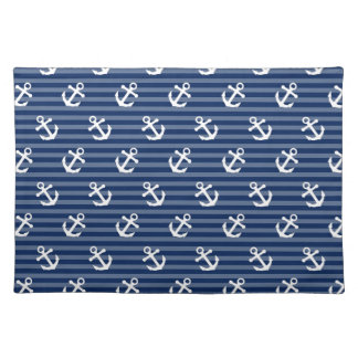 Tilted Anchors Placemat