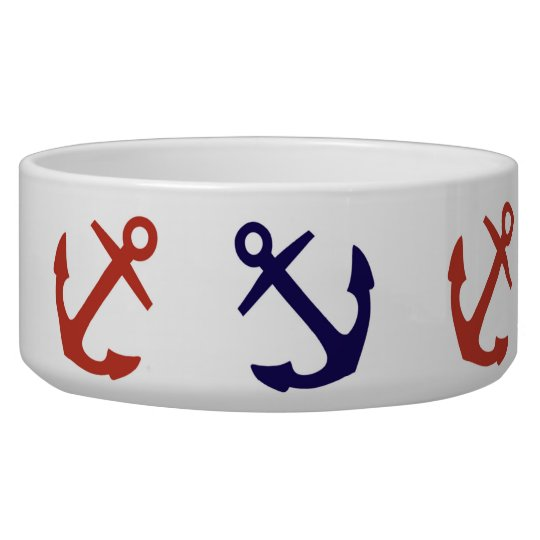 Tilted Nautical Anchor Pattern