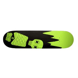 tilted neon bleachboy skateboard