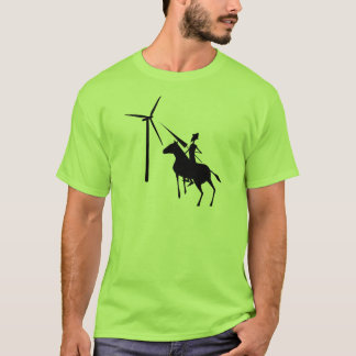 Tilting at Turbines T-shirt