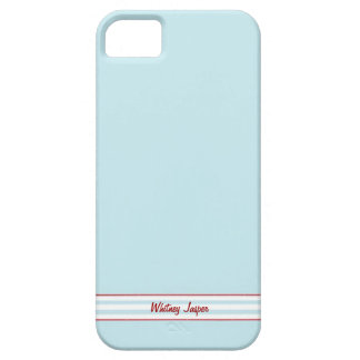 Tilton - Cell Phone Cover - Blue Red Barely There iPhone 5 Case