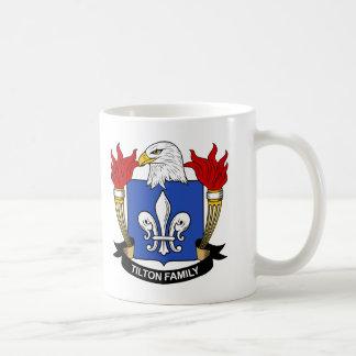 Tilton Family Crest Basic White Mug
