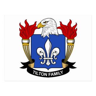 Tilton Family Crest Postcard