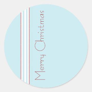 Tilton - Mint Blue - Envelope Seal Round Sticker