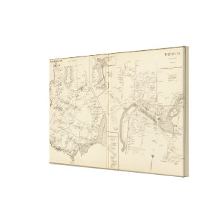 Tilton PO, Sanbornton, Tilton Canvas Print