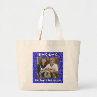 Tim, Francesca and Elvis Jumbo Tote Bag