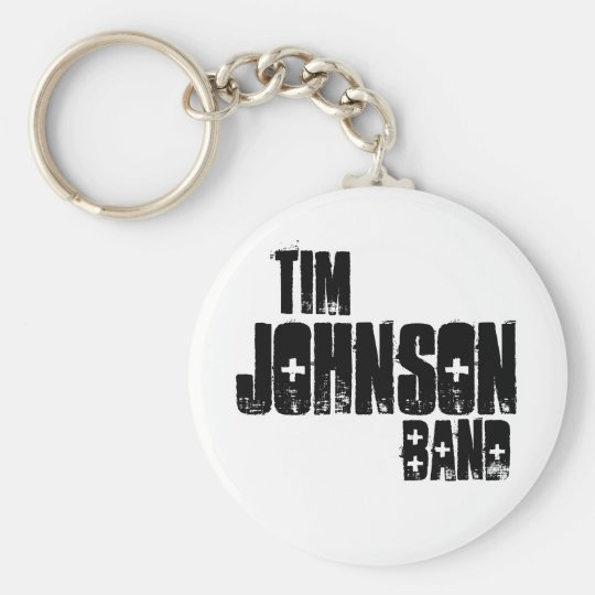 Tim Johnson Band Keychain