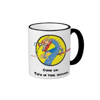 """Tim """"The Dragon"""" Chin Mug"""