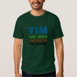 Tim the man tshirt
