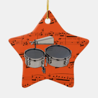 Timbales - Pick your color Christmas Ornament