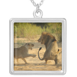 Timbavati River, Kruger National Park, Limpopo Square Pendant Necklace