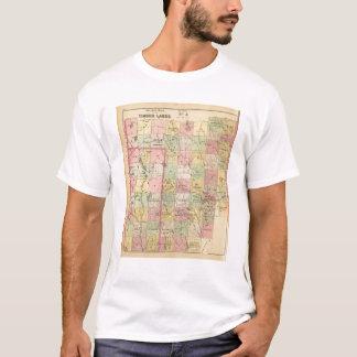 Timber lands 4 Atlas Map T-Shirt