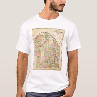 Timber lands 5 Map Atlas T-Shirt