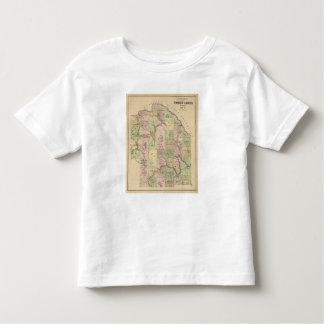 Timber lands 5 Map Toddler T-Shirt
