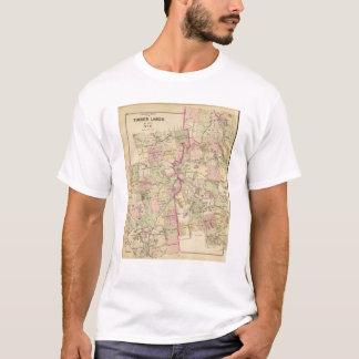 Timber lands 6 Map T-Shirt