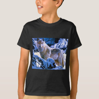 Timber Wolf Art Gifts T-Shirt