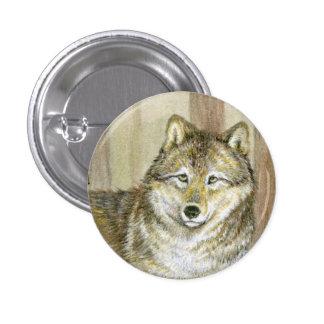 Timber Wolf Pin
