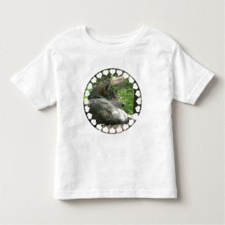 Timber Wolf Toddler's T-Shirt