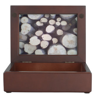 Timber wood keepsake box