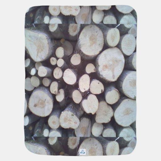 Timber wood receiving blanket