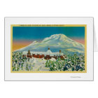 Timberline Lodge in Winter at Mt. Hood Card