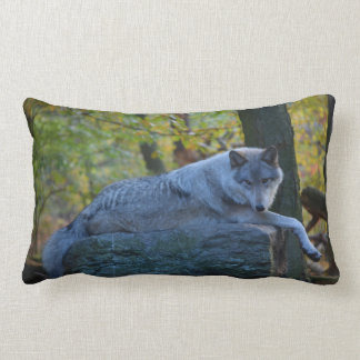 Timberline Wolf Pillow