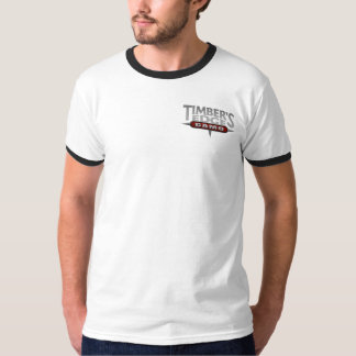Timber's Edge logo ringer T-shirt