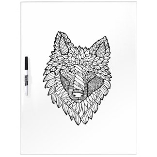 Timberwolf Adult Coloring Dry Erase Board