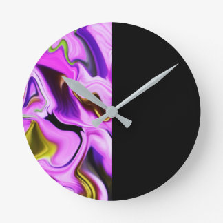 Time - Abstract Art Clock