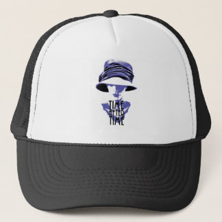 Time After Time Blues Trucker Hat