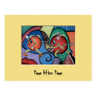 TiMe AfTeR tImE Colorful Postcard
