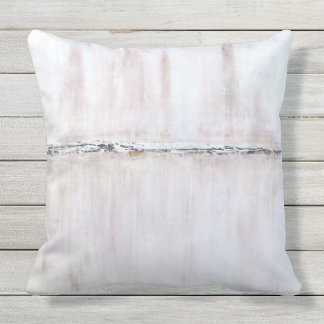 Time Alone Outdoor Pillow