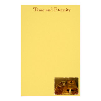 """""""Time and Eternity"""" Custom Stationery"""