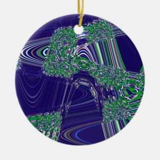 TIME AND SPACE ARE NEVER LINEAR CHRISTMAS ORNAMENT