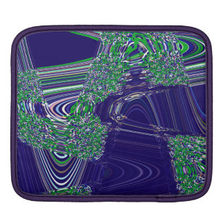 TIME AND SPACE ARE NEVER LINEAR iPad SLEEVE