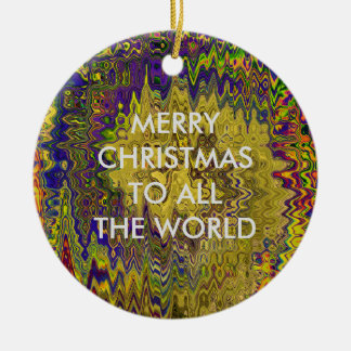 TIME AND SPACE SHATTERED IN THE FIFTH UNIVERSE CHRISTMAS ORNAMENT