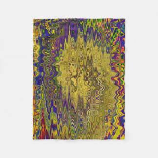 TIME AND SPACE SHATTERED IN THE FIFTH UNIVERSE FLEECE BLANKET