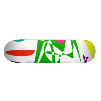 Time and Space Skate Board