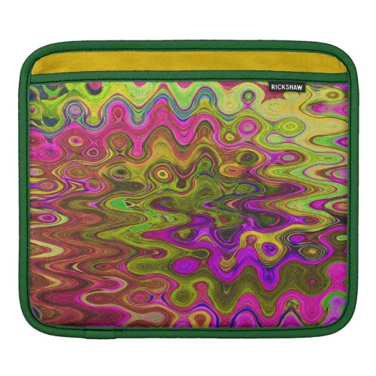 TIME AND SPACE SPINNING AROUND iPad SLEEVE