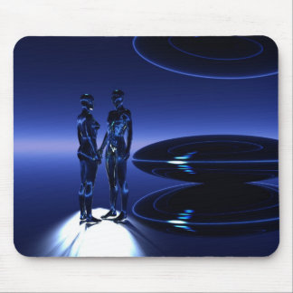 Time and Space Travelers Mouse Mat