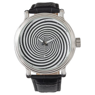 Time Bending Hypnosis Spiral Wrist Watch
