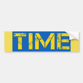 Time Bumper Sticker