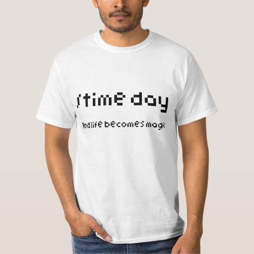 time day shirts